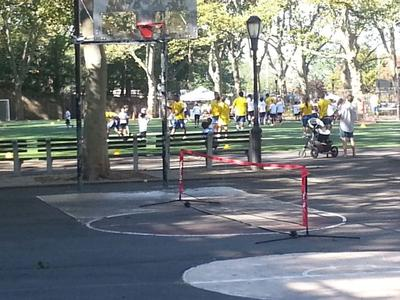 Riverside Park Conservancy's sports camp nearby