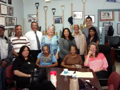 Meeting today at Council Member Carmen Arroyo's office