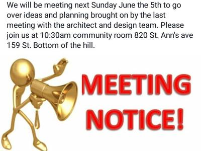 Follow up meeting scheduled