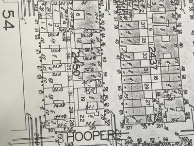 This lot used to be a synagogue (map, 1929)