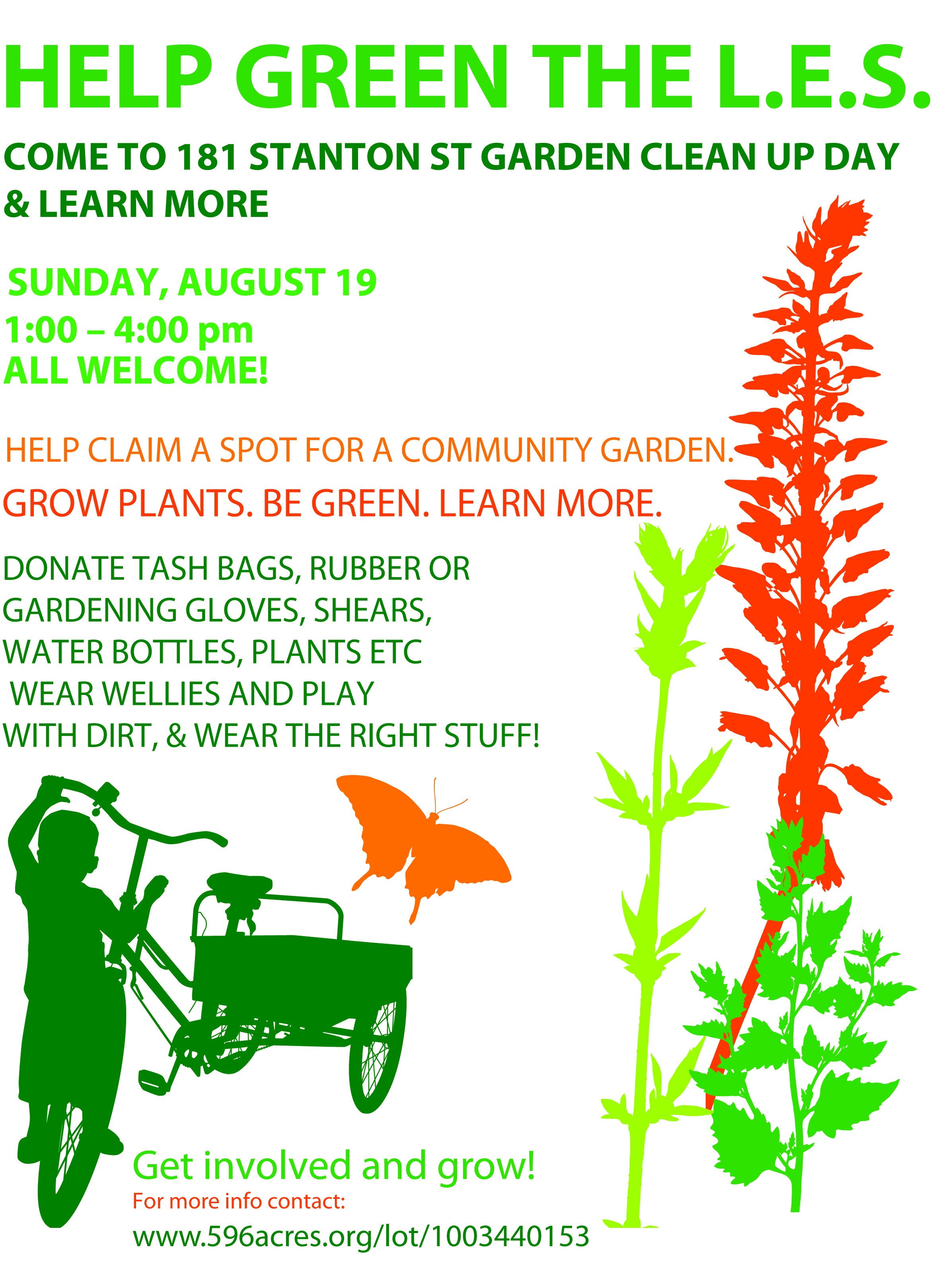 siempre verde living lots nyc hi all pls see attached final flyer hi elissa i have my friend leave a bunch address to you at the shul tmr pls feel to print pls note you can